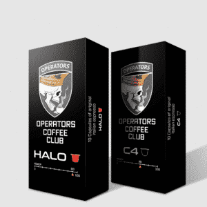 operators coffee club HALO C4