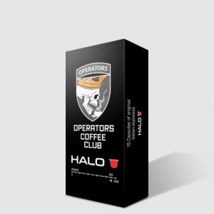 operators coffee club HALO