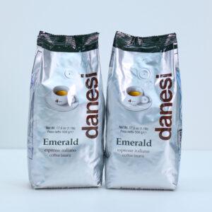 Danesi Caffé Emerald 2x500 gram