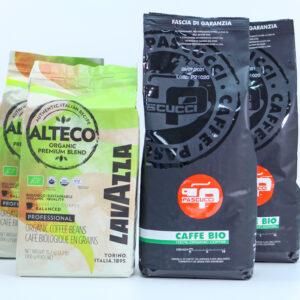 Økologisk kaffepakke med 4 kg italiensk espresso
