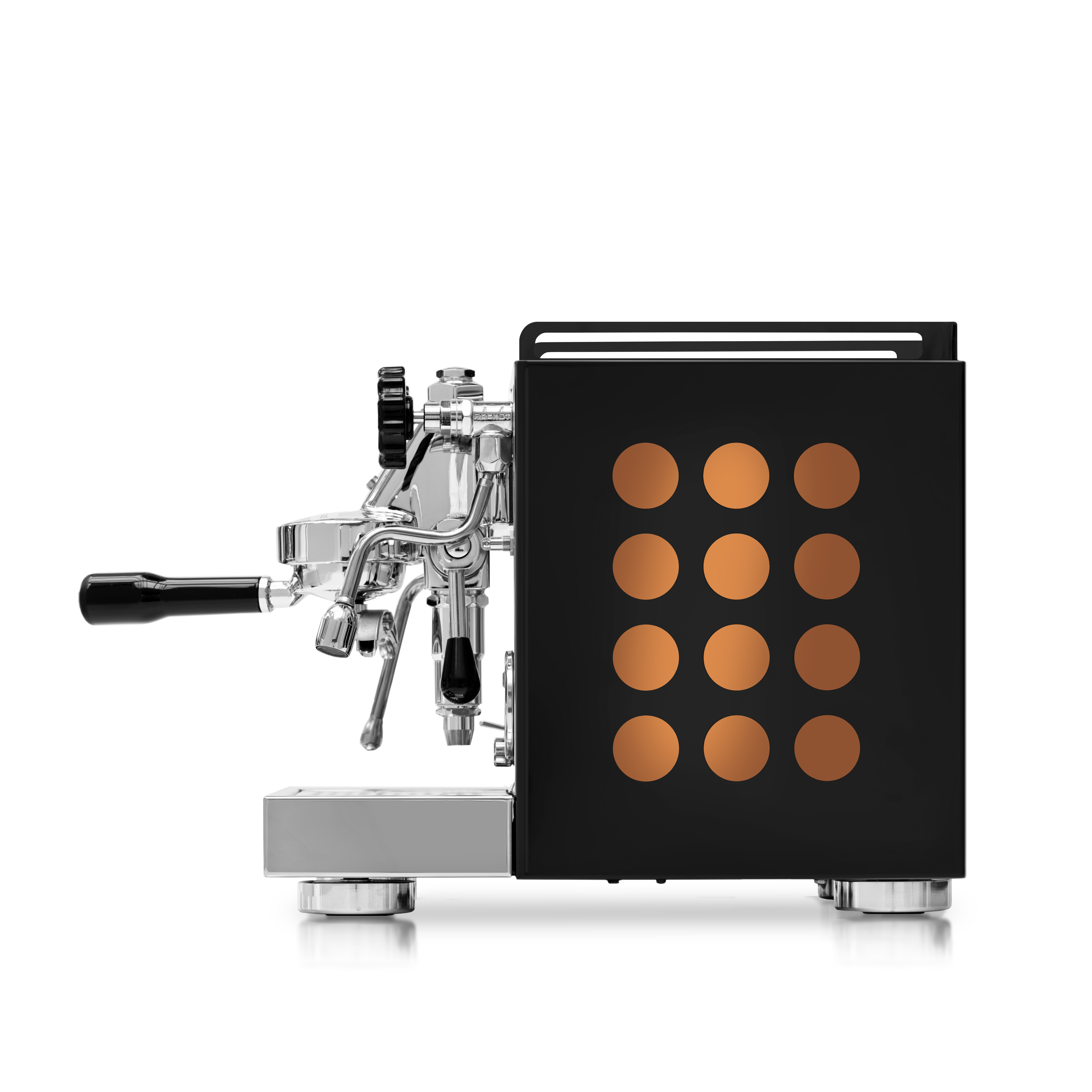 Rocket Appartamento Espressomaskine Sort/kobber