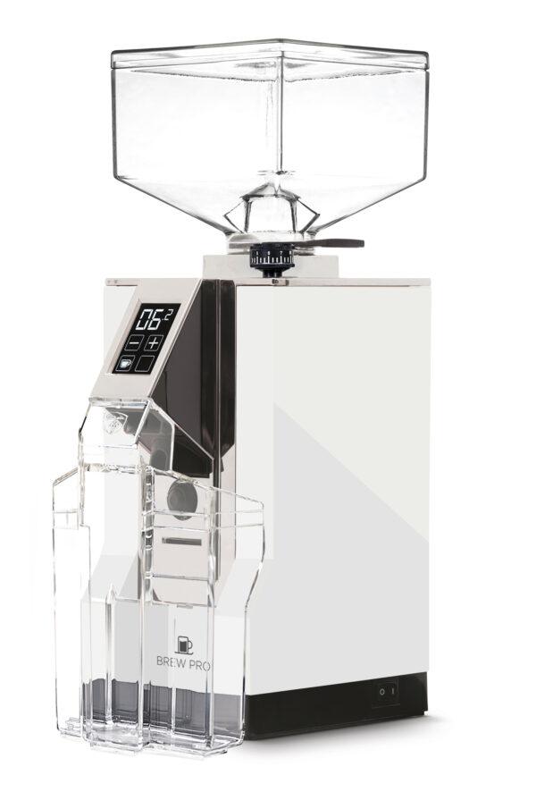 Eureka Mignon brew pro- hvid, kaffekværn