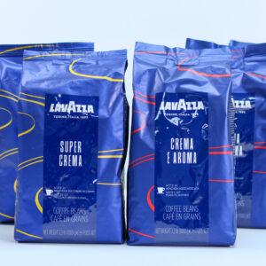 Lavazza kaffepakke, 6 kg.