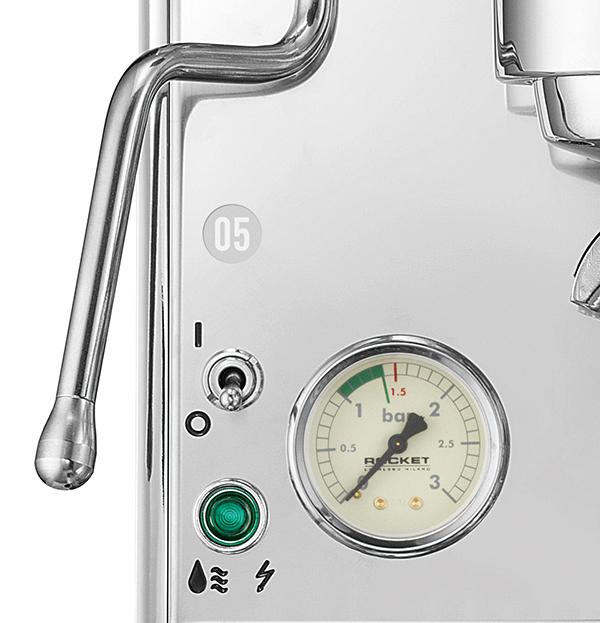 Rocket Giotto V espresso mannometer