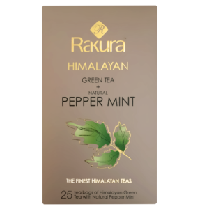 HIMALAYAN GREEN TEA WITH NATURAL PEPPERMINT