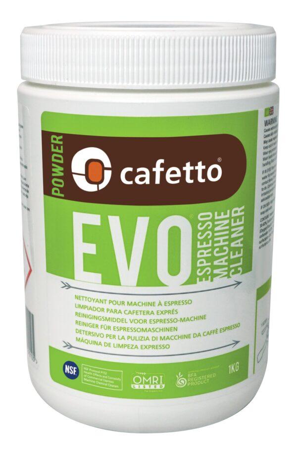 Cafetto Evo økologisk rensepulver til espressomaskiner, 1000 gr.