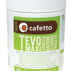 Cafetto Tevo maxi, rensetabletter til espressomaskiner, 150 tabsletter af 2,5 gr/stk.