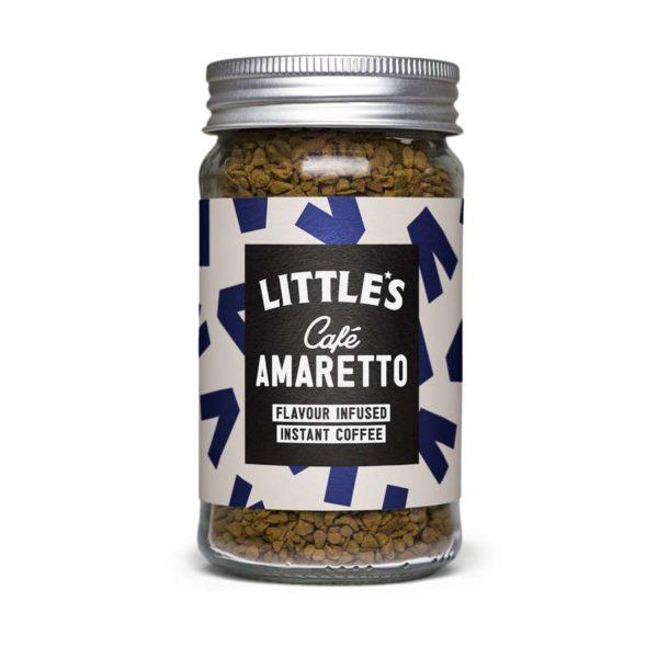 Littles Café Amaretto instant kaffe, 50 gram