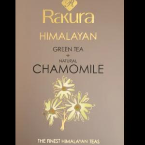 Rakura, charomile, økologisk, 25 breve