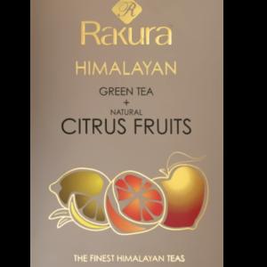 Rakura Citrus Fruits, økologisk, 25 tebreve