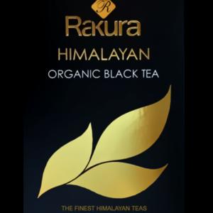 Rakura økologisk sort te, 25 tebreve