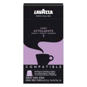 Lavazza Lungo Avvolgente, 10 stk. kaffekapsler