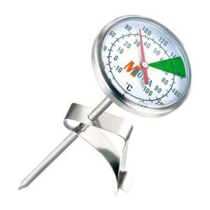Termometer med klips til mælkeskumning