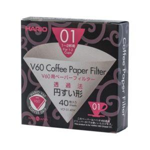 Hario V60 kaffefiltre 01