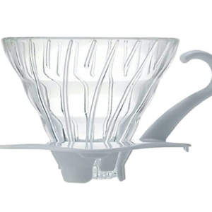 Hario glas dripper 01- med hvid hank
