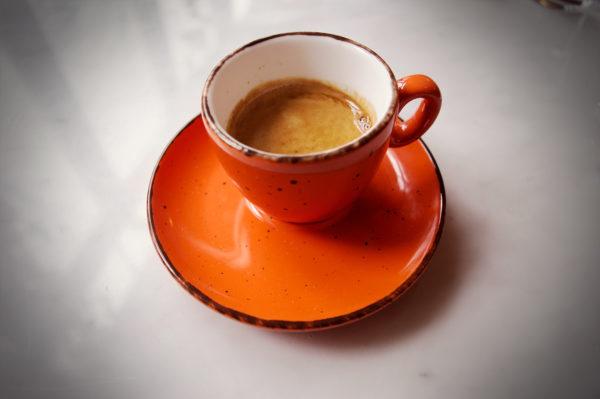Inker espressokop iris orange 7 cl