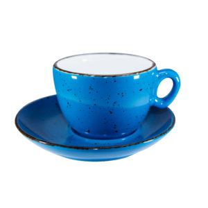 Cappuccinokop 25 cl. blå