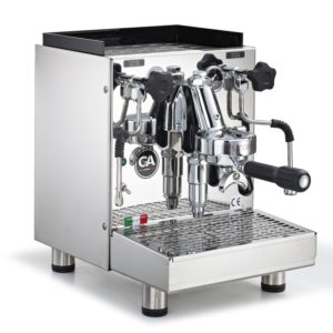 La Nuova Era LaPratica espressomaskine stål