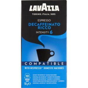 Lavazza Kapsler Espresso Decaffeinato Ricco 10 stk.