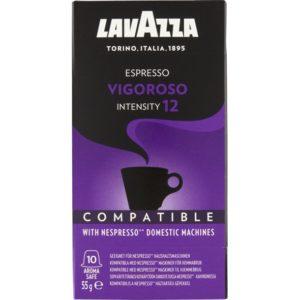 Lavazza Vigoroso kaffekapsel, nespresso kompatibel, 10 stk.