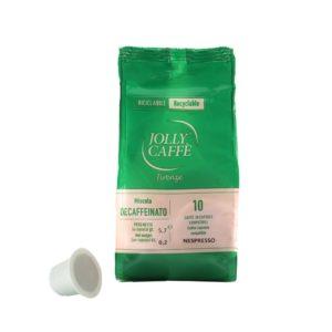 Jolly Caffé decaf til nespresso, 10 kapsler