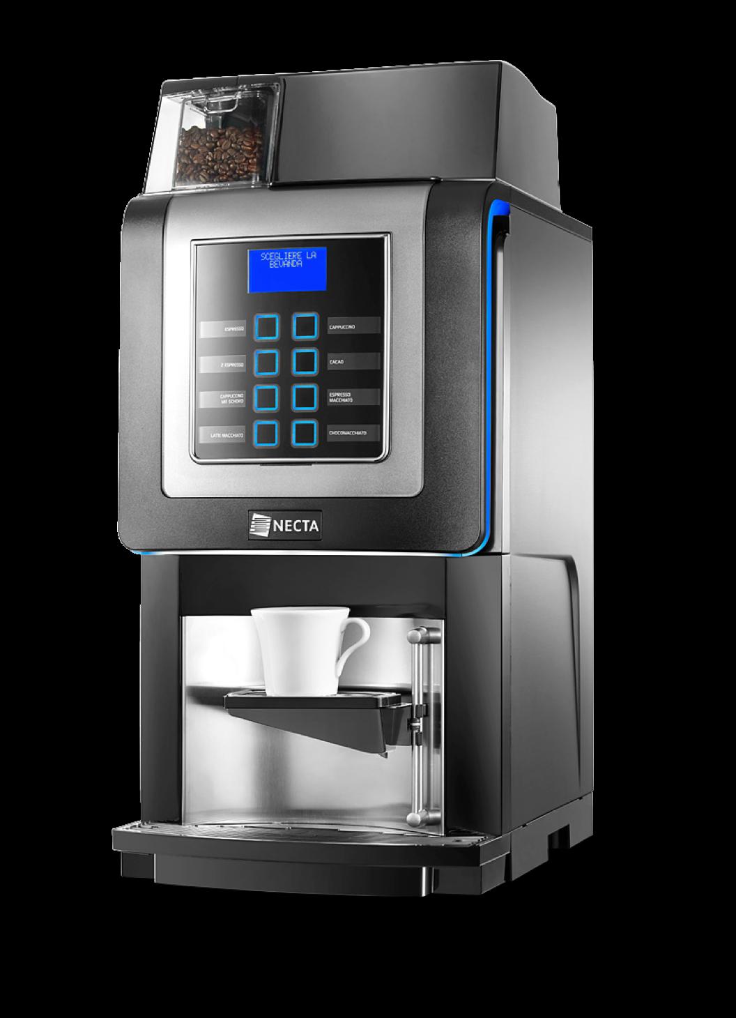 Korinoprime espressomaskine til frisk mælk